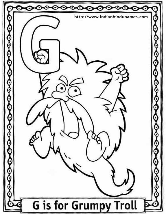 french alphabet coloring pages - photo#8