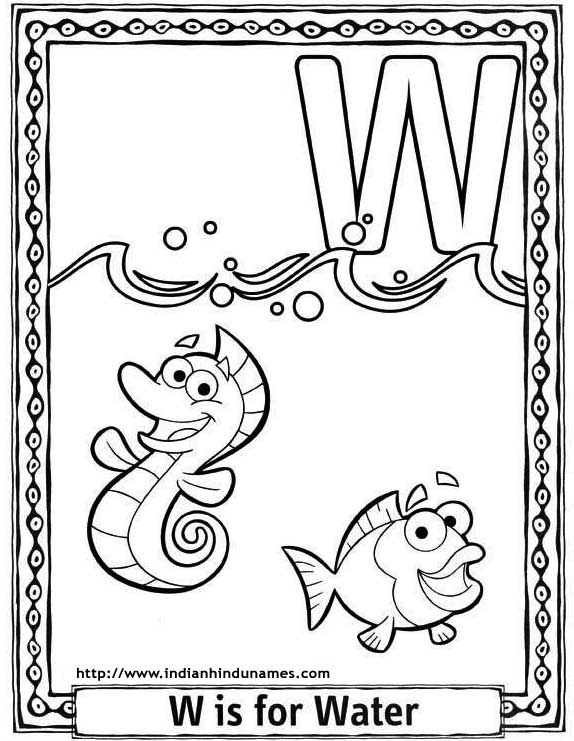 Cartoon Alphabet Coloring Pages : Cartoons alphabets coloring sheets pages dora