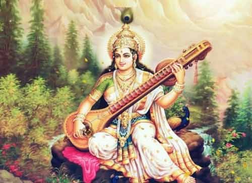 108 Names of Goddess Saraswati