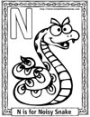 cartoon alphabets coloring sheets