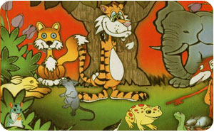 The Moon Lake Stories From Panchatantra For Your Children