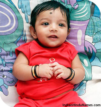 Baby name Vaishnav-Cute new born Indian baby photos